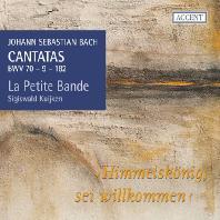 CANTATAS BWV 70,9,182/ LA PETTITE BANDE, SIGISWALD KUIJKEN [SACD HYBRID] [바흐 칸타타 18집]