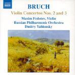 VIOLIN CONCERTOS NOS.2 AND 3/ MAXIM FEDOTOV, DMITRY YABLONSKY