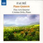PIANO QUINTETS/ FINE ARTS QUARTET/ CRISTINA ORTIZ