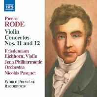 VIOLIN CONCERTOS NOS.11 & 12/ FRIEDEMANN EICHHORN, NICOLAS PASQUET [로드: 바이올린 협주곡 11, 2번 & 에르 바리에]