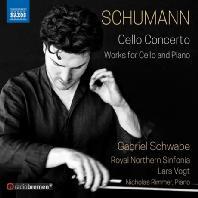 CELLO CONCERTO - WORKS FOR CELLO & PIANO/ GABRIEL SCHWABE, LARS VOGT [슈만: 첼로 협주곡 & 첼로와 피아노를 위한 작품집 - 슈바베, 포그트]