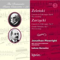 PIANO CONCERTOS/ JONATHAN PLOWRIGHT, LUKASZ BOROWICZ [THE ROMANTIC PIANO CONCERTO 59] [낭만주의 피아노 협주곡 59: 젤렌스키, 저지츠키]