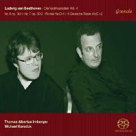 VIOLINSONATEN VOL.4/ THOMAS ALBERTUS IRNBERGER, MICHAEL KORSTICK [SACD HYBRID] [베토벤: 바이올린 소나타 4]