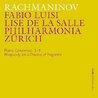PIANO CONCERTOS/ LISE DE LA SALLE, FABIO LUISI [라흐마니노프: 피아노 협주곡 전곡, 파가니니 광시곡]