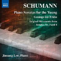 PIANO SONATAS FOR YOUNG/ JINSANG LEE [이진상: 슈만 젊은이를 위한 세 개의 피아노 소나타 외]