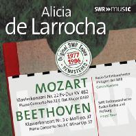PIANO CONCERTO NO.22 & NO.3/ ALICIA DE LARROCHA [모차르트: 피아노 협주곡 22번 & 베토벤: 피아노 협주곡 3번]