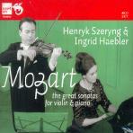 THE GREAT VIOLIN SONATAS/ HENRYK SZERYNG, INGRID HAEBLER