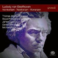 VIOLIN CONCERTO, TRIPLE CONCERTO, ROMANCES/ JAMES JUDD, THOMAS ALBERTUS IRNBERGER [SACD HYBRID] [베토벤: 바이올린 협주곡, 삼중협주곡, 로망스 1, 2번]