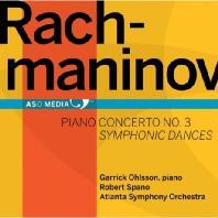 PIANO CONCERTO NO.3 & SYMPHONIC DANCES OP.45/ GARRICK OHLSSON, ROBERT SPANO