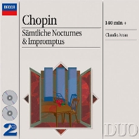 THE COMPLETE NOCTURNES & IMPROMPTUS/ CLAUDIO ARRAU [DECCA DUO] [쇼팽: 녹턴, 즉흥곡 전집 - 클라우디오 아라우]