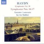 SYMPHONIES NOS.14-17/ KEVIN MALLON