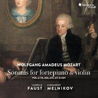 SONATAS FOR FORTEPIANO & VIOLIN VOL.3/ ISABELLE FAUST, ALEXANDRE MELNIKOV [모차르트: 바이올린 소나타 3집 - 이자벨 파우스트, 알렉산더 멜니코프]