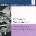PIANO SONATAS VOL.7/ IDIL BIRET [BEETHOVEN EDITION 16]