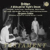 A MIDSUMMER NIGHTS DREAM/ ALFRED DELLER, JENNIFER VYVYAN [브리튼: <한 여름밤의 꿈>전곡 - 세계 초연 실황]