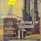 MISSA NO.2/ PSALM 150/ THE DEUM/  HELMUTH RILLING