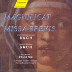 MAGNIFICAT/ MISSA BREVIS/ HELMUTH RILLING