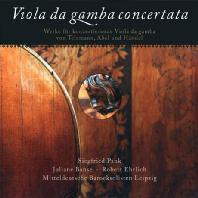 VIOLA DA GAMBA CONCERTATA/ SIEGFRIED PANK, JULIANE BANSE