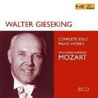 COMPLETE SOLO PIANO WORKS/ WALTER GIESEKING [모차르트: 피아노 독주곡 전곡 - 발터 기제킹]