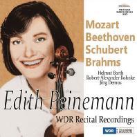 WDR RECITAL RECORDINGS: MOZART, BEETHOVEN, SCHUBERT, BRAHMS [에디트 파이네만: 바이올린 소나타 - 모차르트, 베토벤, 슈베르트, 브람스]
