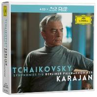 SYMPHONIES 1-6/ HERBERT VON KARAJAN [4CD+BDA] [차이코프스키: 교향곡 - 베를린 필하모닉, 카라얀]