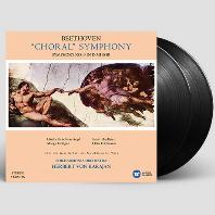 CHORAL SYMPHONY/ HERBERT VON KARAJAN [베토벤: 교향곡 9번 - 필하모니아 오케스트라, 카라얀] [스테레오버전] [180G LP]