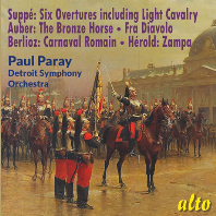SUPPE & FAVOURITE FRENCH OVERTURES/ PAUL PARAY [주페 & 프랑스 작곡가: 서곡집]