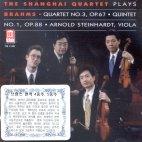 QUINTET NO.1,OP.88/ QUARTET NO.3,OP.67/ THE SHANGHAI QUARTET