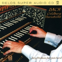 GOLDBERG VARIATIONS/ JORY VINIKOUR [SACD HYBRID] [바흐: 골드베르그 변주곡 - 조리 비니커]