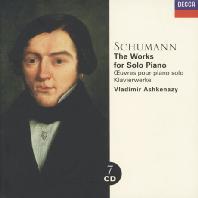 THE WORKS FOR SOLO PIANO/ VLADIMIR ASHKENAZY [슈만: 피아노 솔로 - 아쉬케나지]