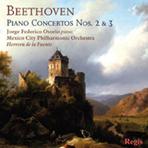 PIANO CONCERTOS NOS.2 & 3/ JORGE FEDERICO OSORIO/ HERRERA DE LA FUENTE