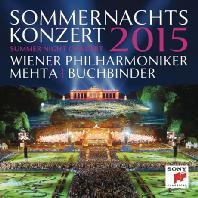 2015 SUMMER NIGHT CONCERT/ RUDOLF BUCHBINDER, ZUBIN MEHTA [2015 빈 필하모닉 여름밤 콘서트 - 부흐빈더, 메타]