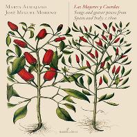 LAS MUJERES Y CUERDAS: SONGS AND GUITAR PIECES FROM SPAIN AND ITALY 1800/ MARTA ALMAJANO, JOSE MIGUEL MORENO