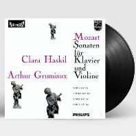 SONATAS FOR PIANO AND VIOLIN/ CLARA HASKIL, ARTHUR GRUMIAUX [ANALOGPHONIC 180G LP] [모차르트: 바이올린 소나타]