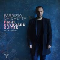 KEYBOARD SUITES BWV 809, 825, 831/ FABRIZIO CHIOVETTA [바흐: 키보드 모음곡 - 파브리치오 치오베타]
