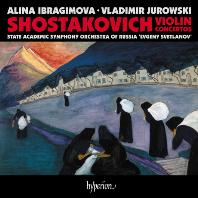 VIOLIN CONCERTOS NOS.1 & 2/ ALINA IBRAGIMOVA, VLADIMIR JUROWSKI [쇼스타코비치: 바이올린 협주곡 1, 2번 - 알리나 이브라기모바]