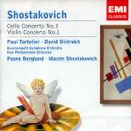CELLO CONCERTO NO.1/ VIOLIN CONCERTO NO.1/ PAUL TORTELIER/ DAVID OISTRAKH