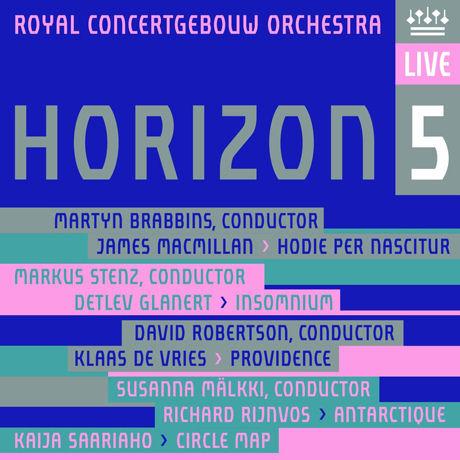 HORIZON 5/ ROYAL CONCERTGEBOUW ORCHESTRA [SACD HYBRID+DVD]