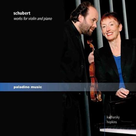 WORKS FOR VIOLIN AND PIANO/ BORIS KUCHARSKY, ELIZABETH HOPKINS