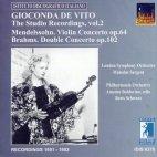 THE STUDIO RECORDINGS VOL.2 ETC/ GIOCONDA DE VITO