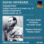 VIOLIN CONCERTO IN D MAJOR OP.35/ NIKOLAY ANOSOV