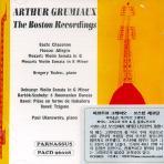 THE BOSTON RECORDINGS 1951,1952