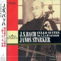 CELLO SUITES NO.1,3,4,6/ JANOS STARKER