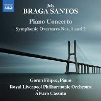 PIANO CONCERTO, SYMPHONIC OVERTURES 1 & 2/ ALVARO CASSUTO [브라가 산토스: 관현악 작품집]