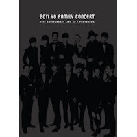 2011 YG FAMILY CONCERT LIVE: 15TH ANNIVERSARY [2CD+포]