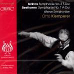 SYMPHONIE NO.3,7 F-DUR ETC/ OTTO KLEMPERER
