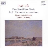 FOUR HAND PIANO MUSIC/ PIERRE-ALAIN VOLONDAT, PATRICK DE HOOGE [포레: 네손을 위한 피아노 - 볼롱다트, 후지]