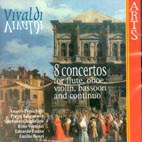 8 CONCERTOS FOR FLUTE OBOE VIOLIN BASSOON AND CONTINUO