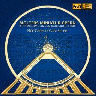 MOLTERS MINIATUR-OPERN/ HOF-CAPELLE CARLSRUHE [칼스루에 궁정의 음악: 몰터, 보디누스, 치아티, 슈미트바우어의 기악곡과 실내악, 아리아]