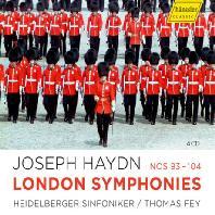 LONDON SYMPHONIES NOS.93-104/ THOMAS FEY [하이든: 런던 교향곡집 93-104번 - 토마스 페이]