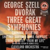 THREE GREAT SYMPHONIES/ GEORGE SZELL [MASTERWORKS HERITAGE] [드보르작: 교향곡 7-9, 카니발 서곡 & 스메타나: <팔려간 신부> 서곡 외 - 조지 셀]
